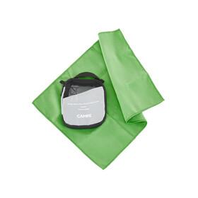 CAMPZ microvezel handdoek S groen